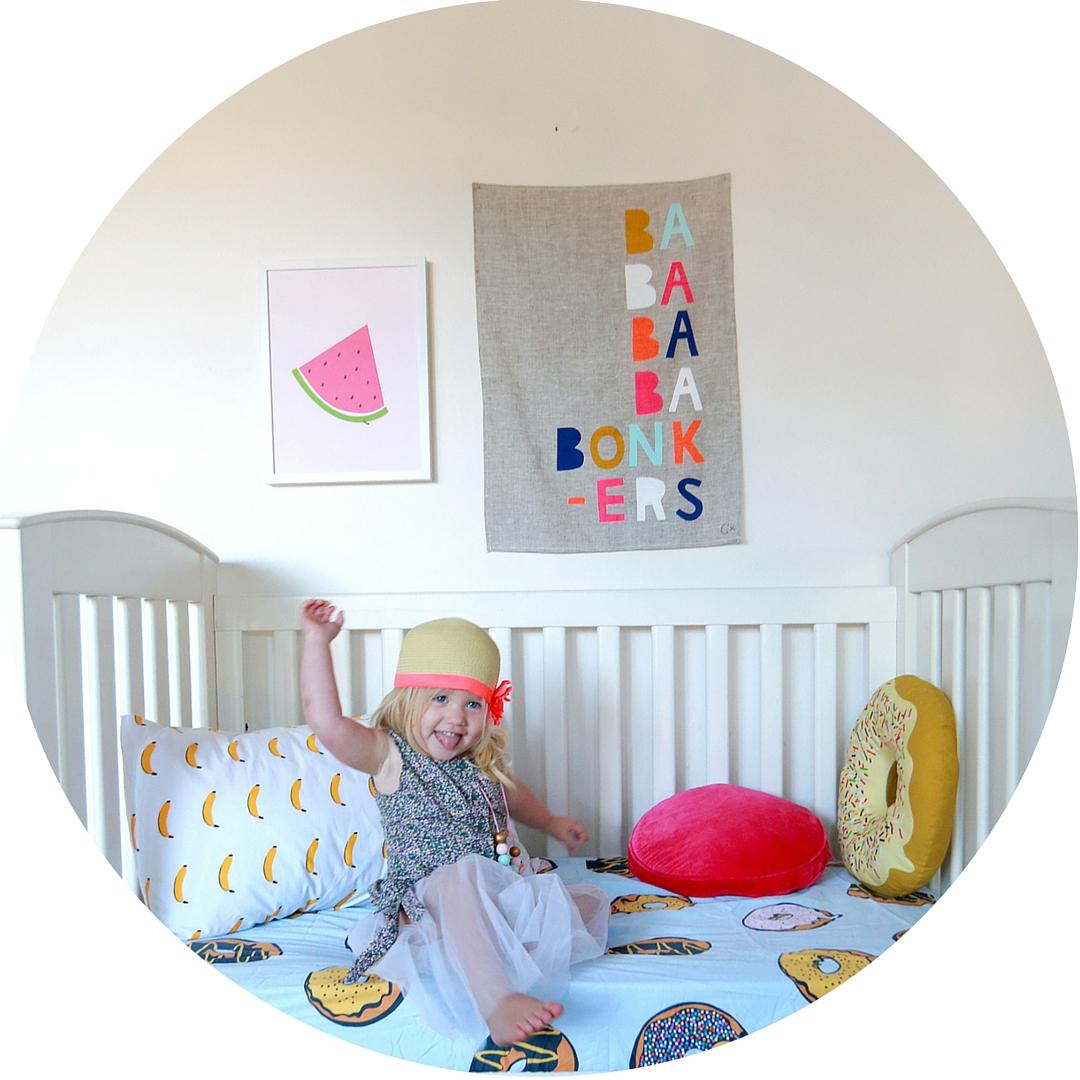 Girl's fun nursery