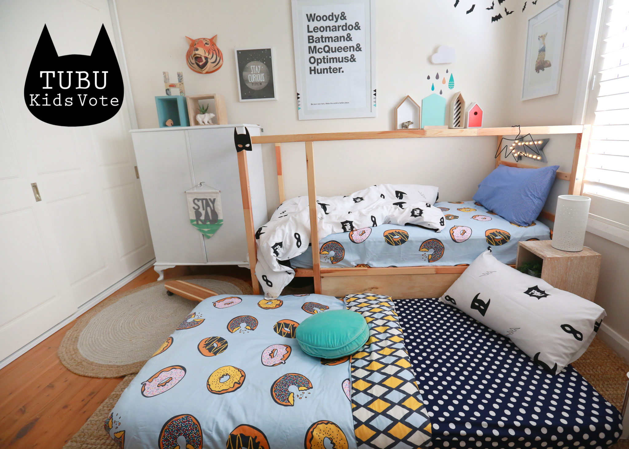 TUBU Kids Kids Rooms Boys Bedding Roundup - Winners bedding