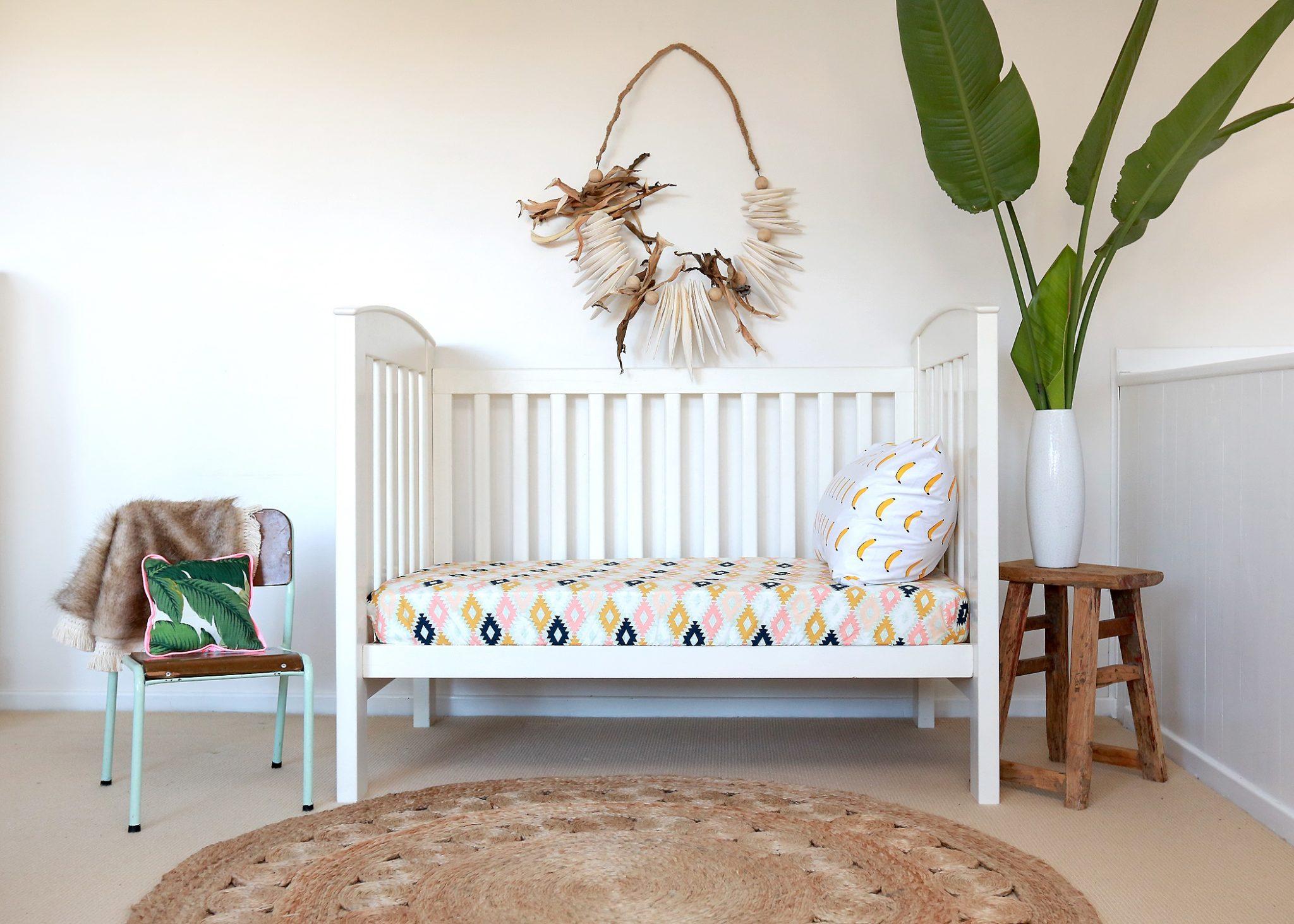 Boho nursery, kids rooms inspiration