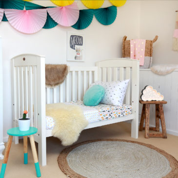 A round-up of gorgeous cot linen for girls – Part One (of Three)