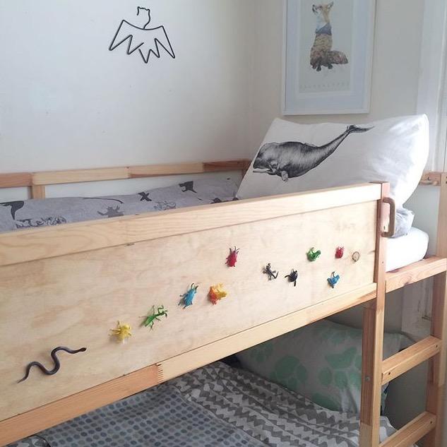 Bunk bed, kids rooms inspiration