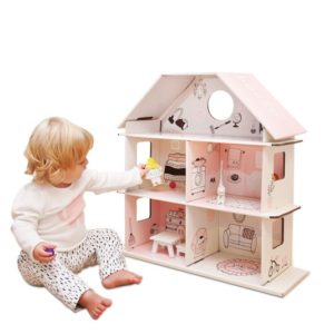 Green Lullaby doll house