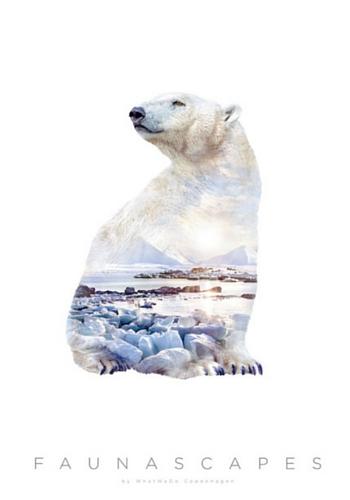 Faunascape polar bear from Paper Empire