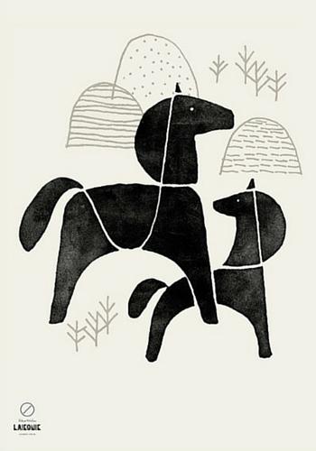 Laikonik's nordic horse print