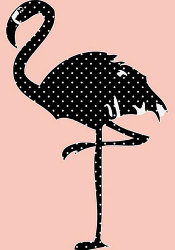 Flamingo print, Yorkelee