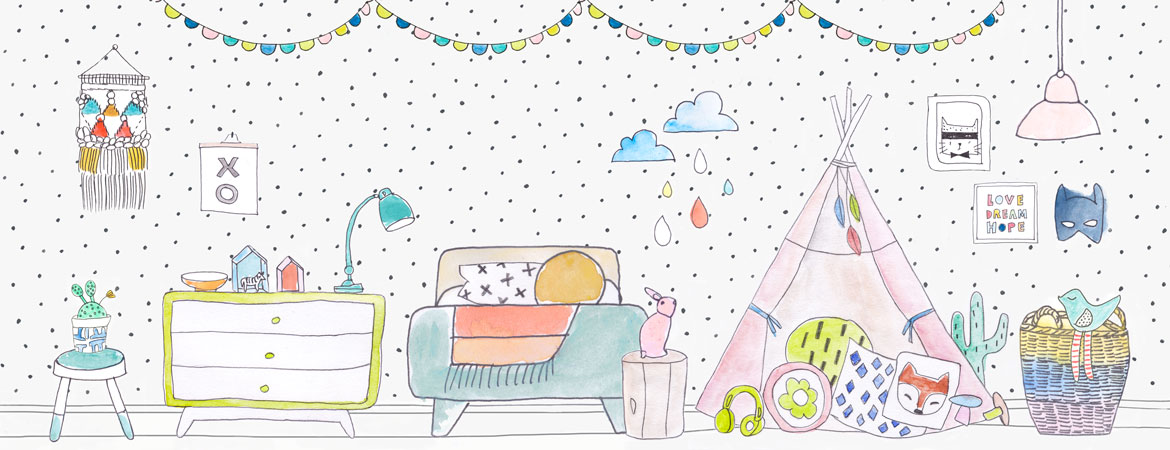 Kids room designs, kids interiors