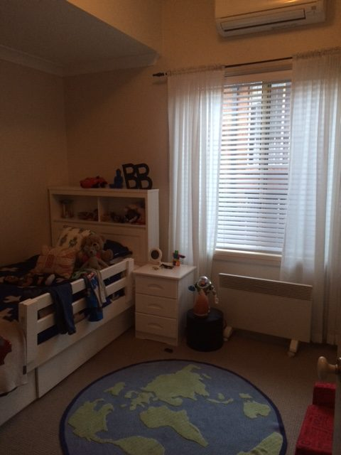 Boys room before makeover
