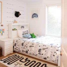 A Little Boy's Bedroom Makeover – Before And After