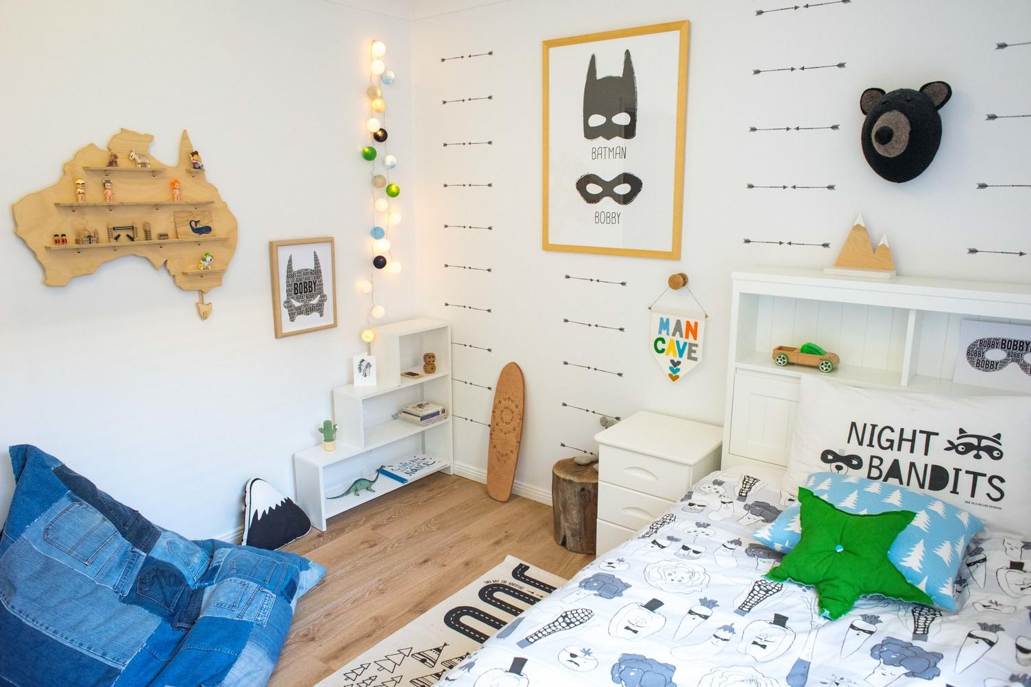 Boys bedroom, scandi makeover