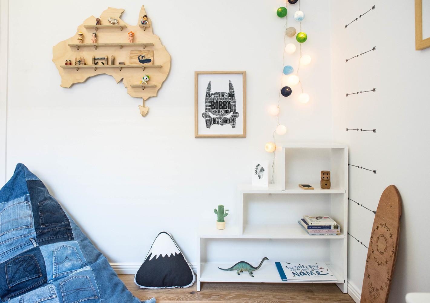 Boys room, My Treasure Board (One Two Tree), JEANBAG