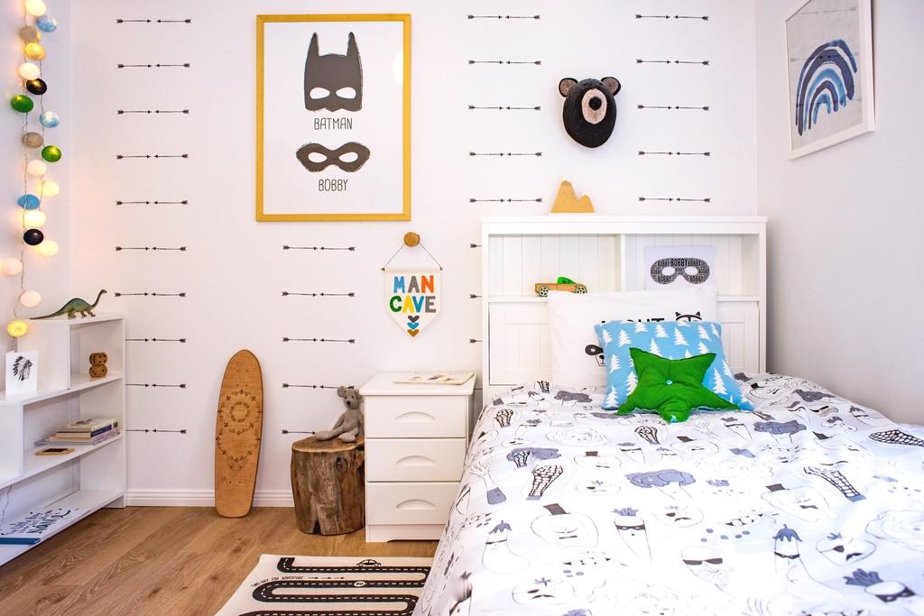 Boys bedroom makeover