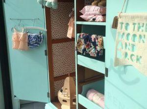 Kids vintage wardrobe