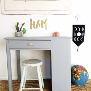 Restored vintage kid desk