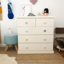 A Simple Kids Drawer Makeover