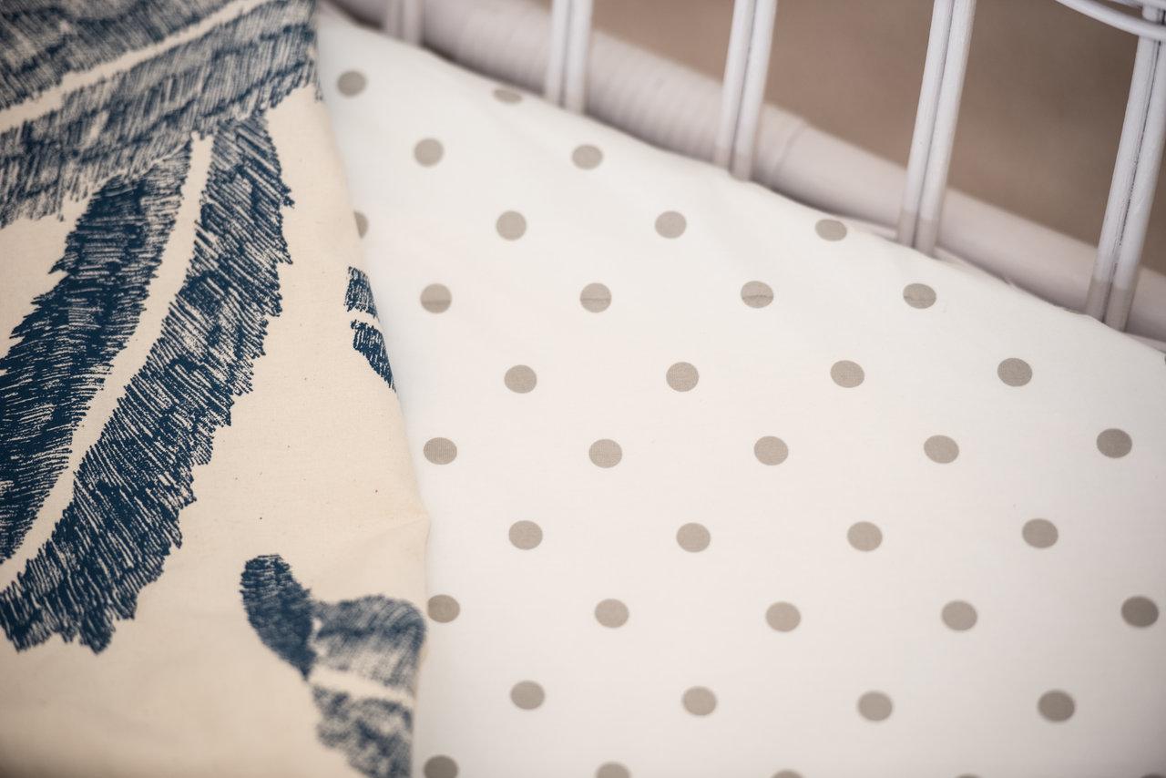 Nursery decor, bassinet sheet