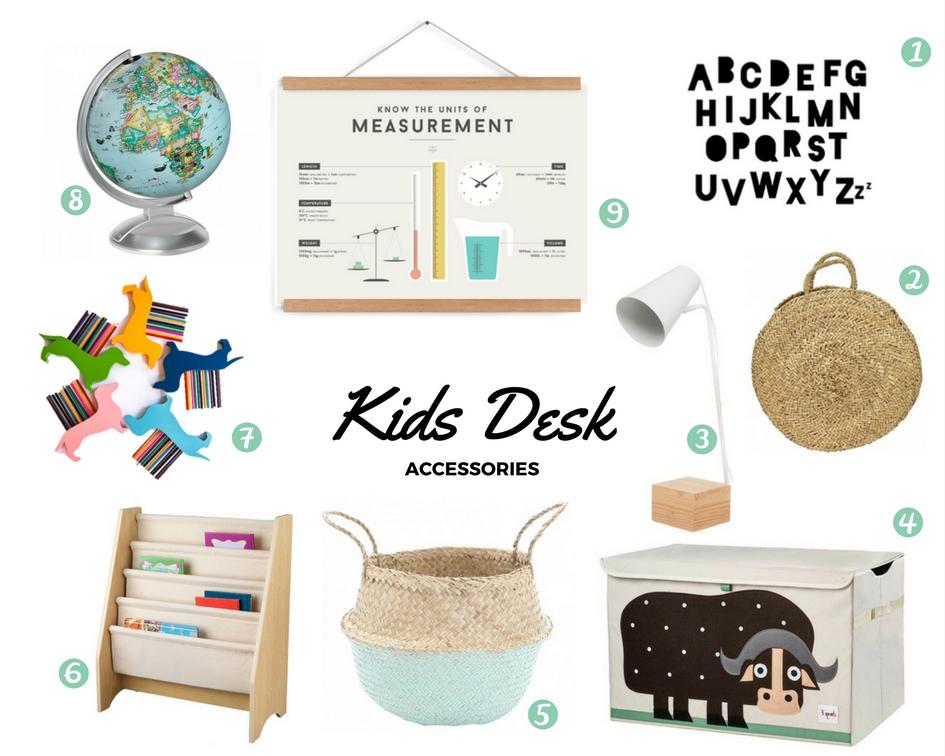 Kids Desk Accessories