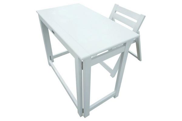foldable teen desk set