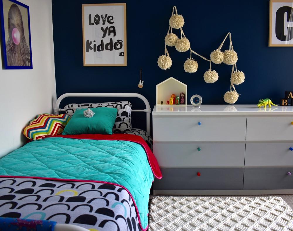 diamond honeycomb rug, wool rug, kids rug
