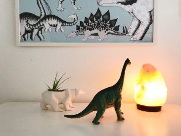 Salt lamp, Hearts Desire Homewares, kids room