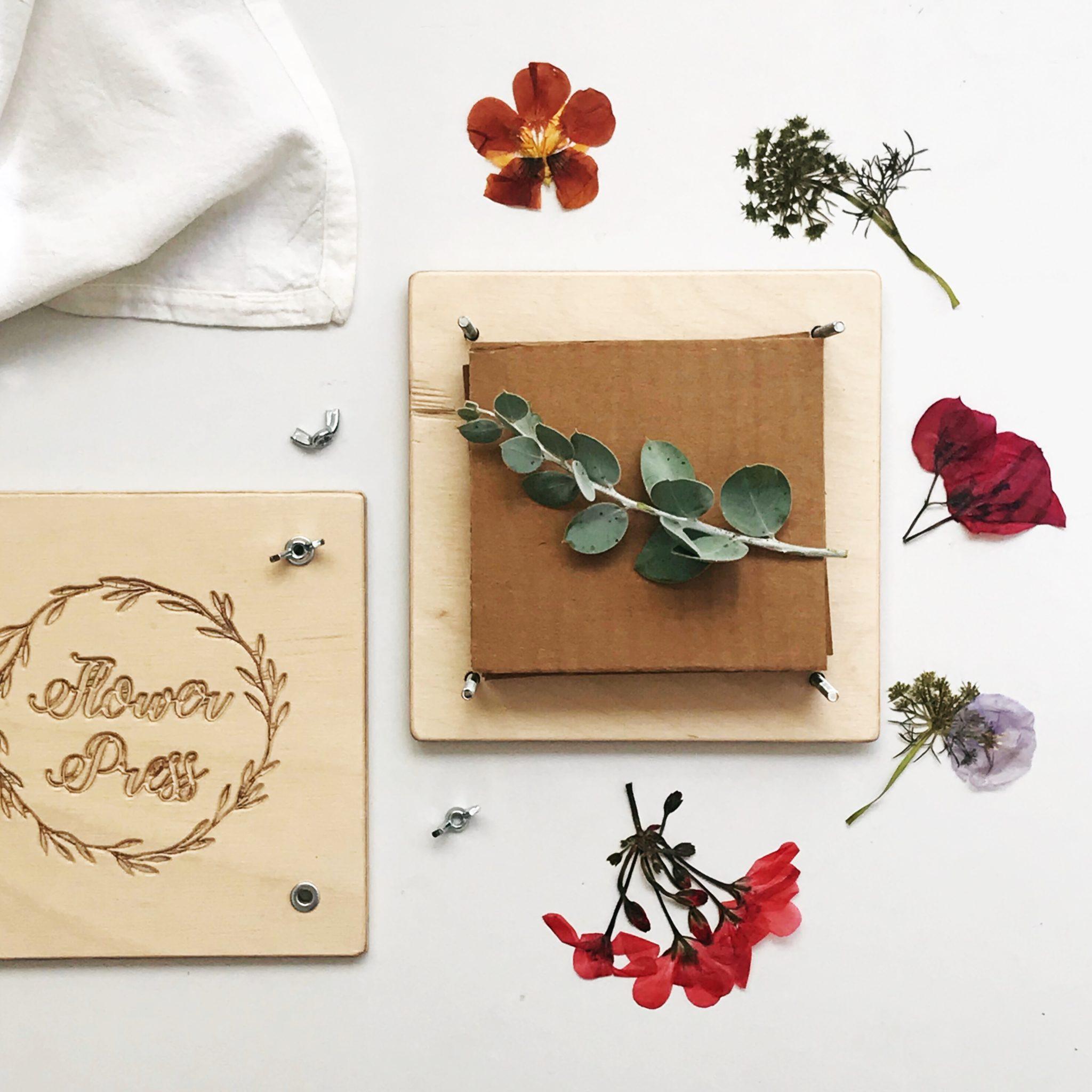 Personalised flower press tubu kids personalised flower press mightylinksfo
