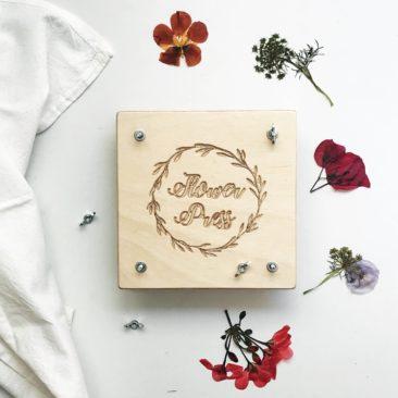 Personalised Flower Press