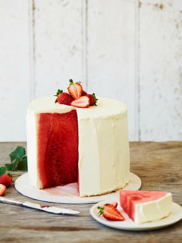 Watermelon cake, Wholesome Child, Mandy Sacher