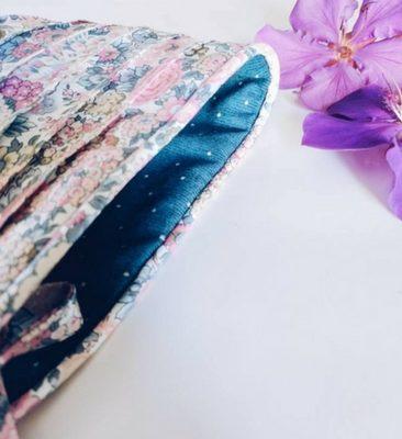 Baby bonnets, Pollen Australia, Liberty print