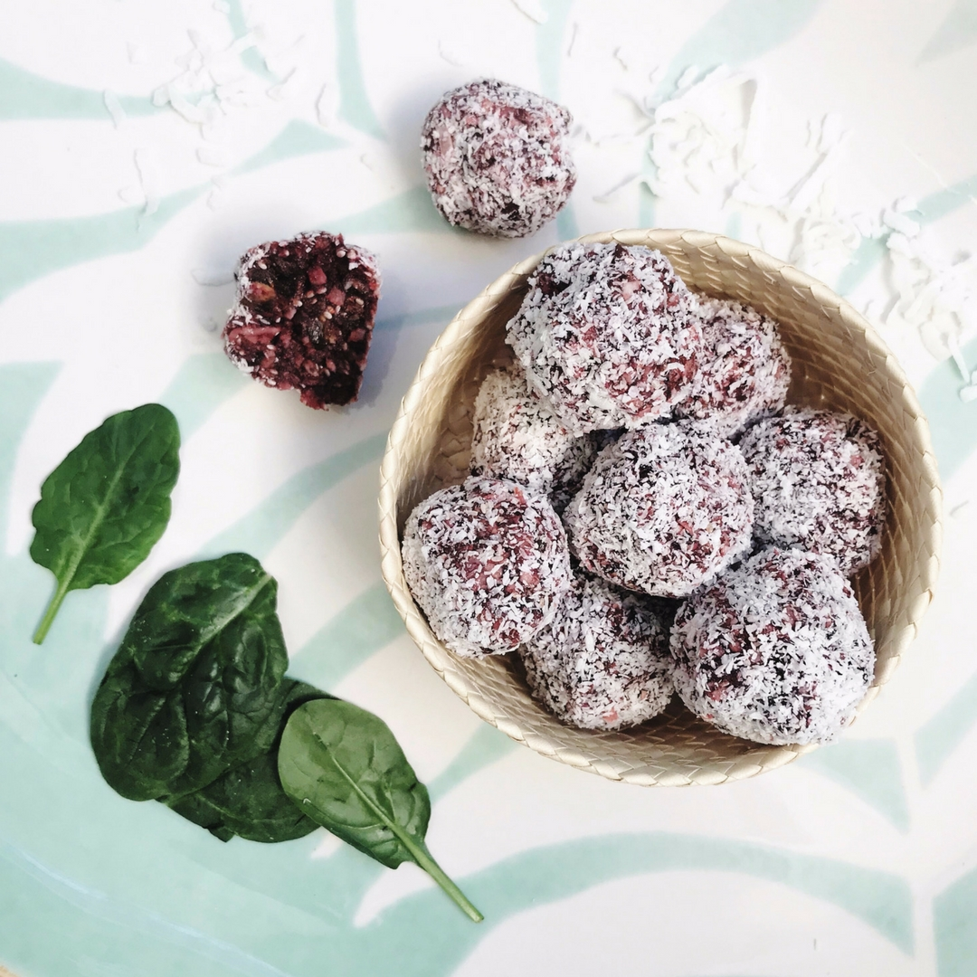 Beetroot Bliss Balls, Wholesome Child by Mandy Sacher, image TUBU Kids