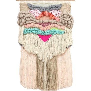 Colourful Custom Wall Weave