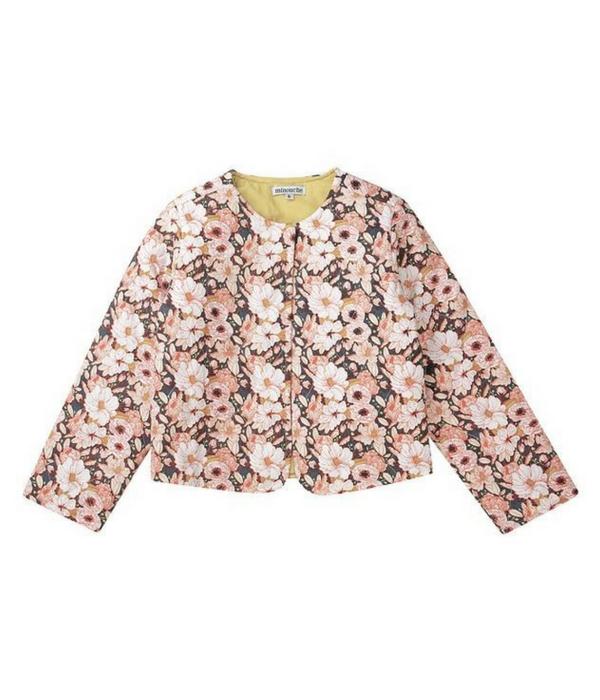 Quilter floral jacket, Minouche