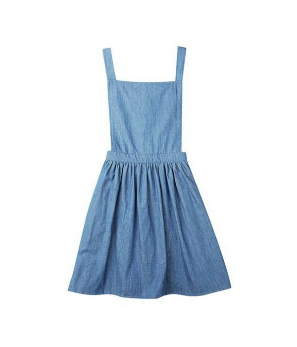 Minouche girls pinafore