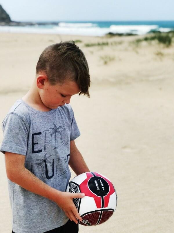 ESPN Pro soccer ball, kids beach soccer
