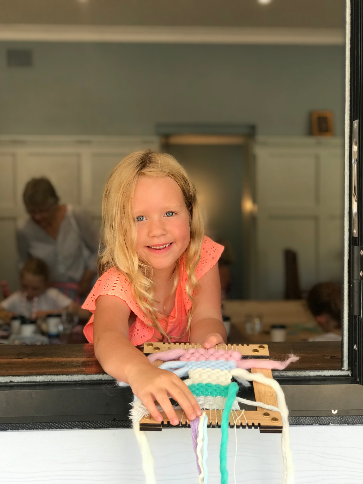 kids weave workshop, Rise On The Bay